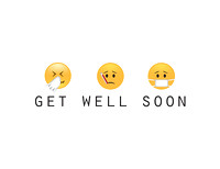 Emoji Get Well Soon